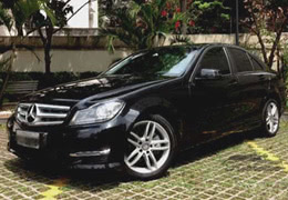 Mercedes-C200-blindado