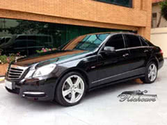 Mercedes-E350-blindado